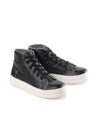 Black color Boots . Blackkelly Sepatu Sneakers Boot Wanita - Black -