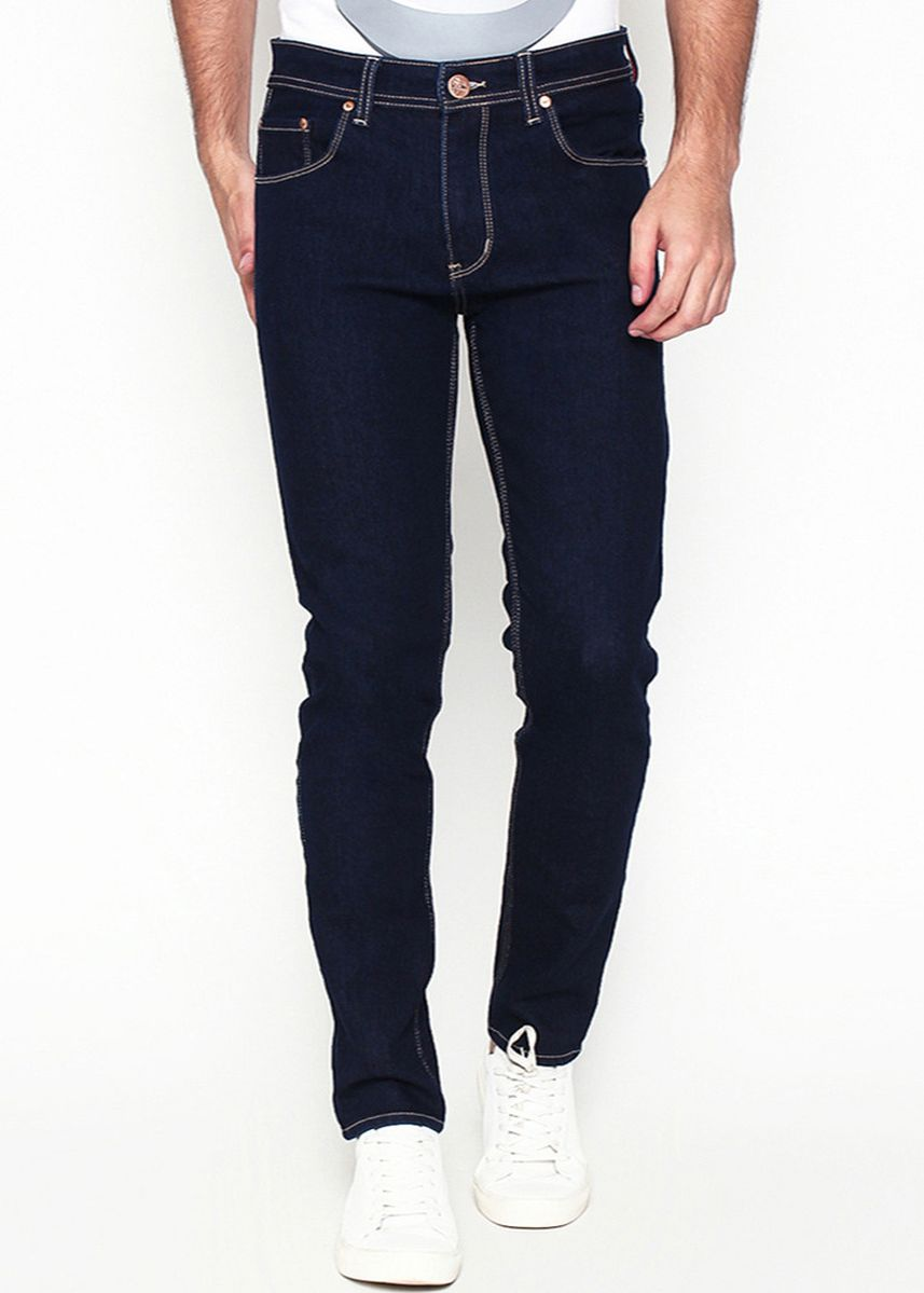 Biru color Celana Jeans . 2Nd RED Celana Jeans Slim Fit Biru Hitam 133205 -