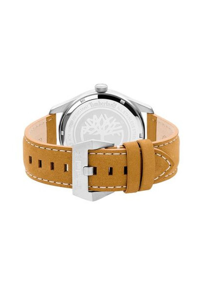 Brown color Chronographs . Timberland Ferndale Stainless Steel 44mm Jumbo Watch Tbl.15639Js/07 -