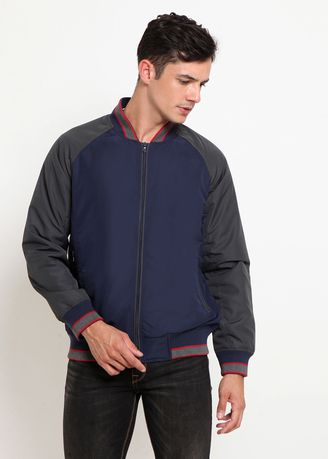 Biru color Jaket & Coat . Police Jacket Pria  -