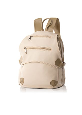Beige color Backpacks . AnyShop.inc Backpack Tas Wanita - Cream -
