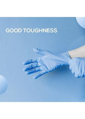 Tidak Berwarna color Peralatan . Disposable Gloves Nitril -
