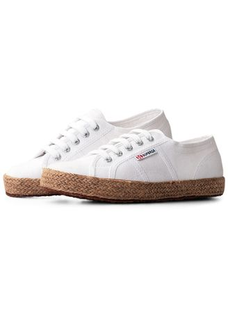 White color Casual Shoes . Superga 2750 Espadrille in White -