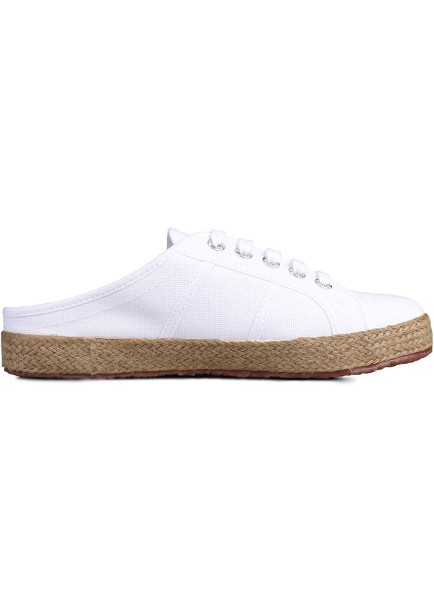 White color Casual Shoes . Superga 2402 Espadrille Mule in White -