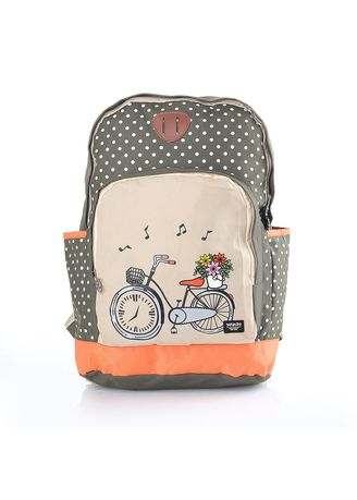 Olive color Bags . Infikids Backpack Tas Anak Perempuan - Olive -