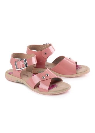 Pink color Footwear . Anyshop.inc Buckle Sandal Anak Perempuan - Salem -