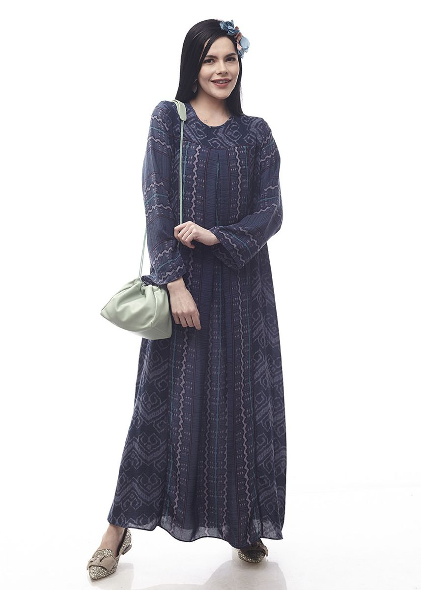 Blue color Dresses . Sikka by Aisaa - Gamis -