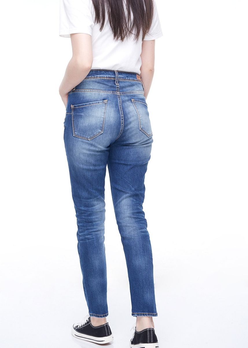 Biru color Celana Jeans . Greenlight Women Denim Pants 040320 -
