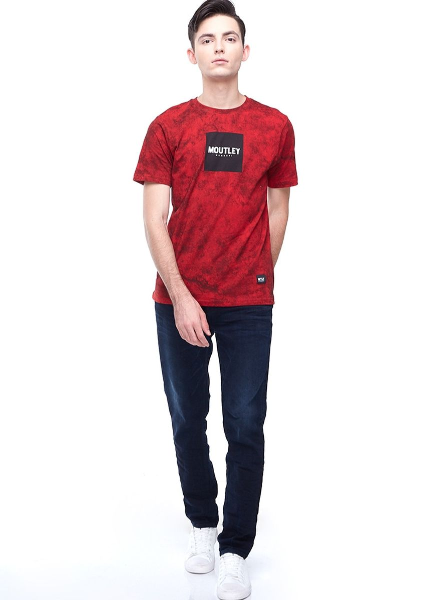 Red color T-Shirts and Polos . Moutley Men Tshirt 010520  -