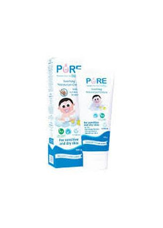No Color color Body Cream & Oil . Purebaby Soothing Moisturizer Cream with oat kernel extract -