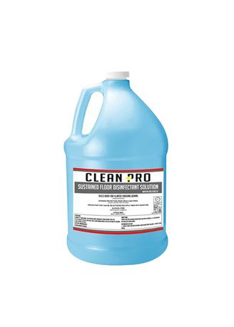 No Color color  . Clean Pro Sustained Floor Disinfectant Solution, 1 Gallon/3.5 Liters -