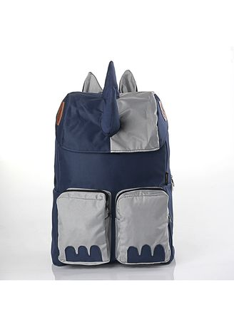 Navy color Bags . Infikids Backpack Tas anak Laki-laki + Rain Cover - Navy -