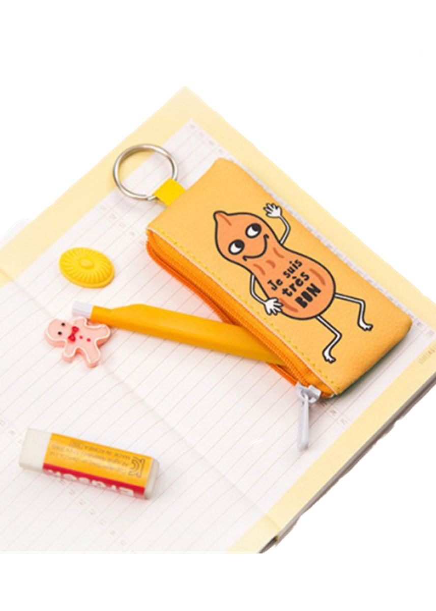 Yellow color Wallets and Clutches . Cute Cartoon Pendant Coin Purse -