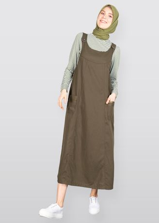Jump Suits . GRAPHIS Maxi Overall With Pocket -
