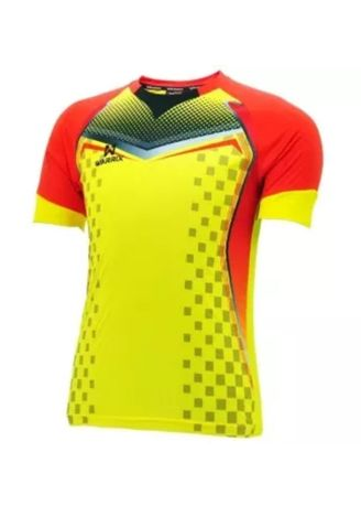 Yellow color Sports Wear . Warrix Yellow Jersey -