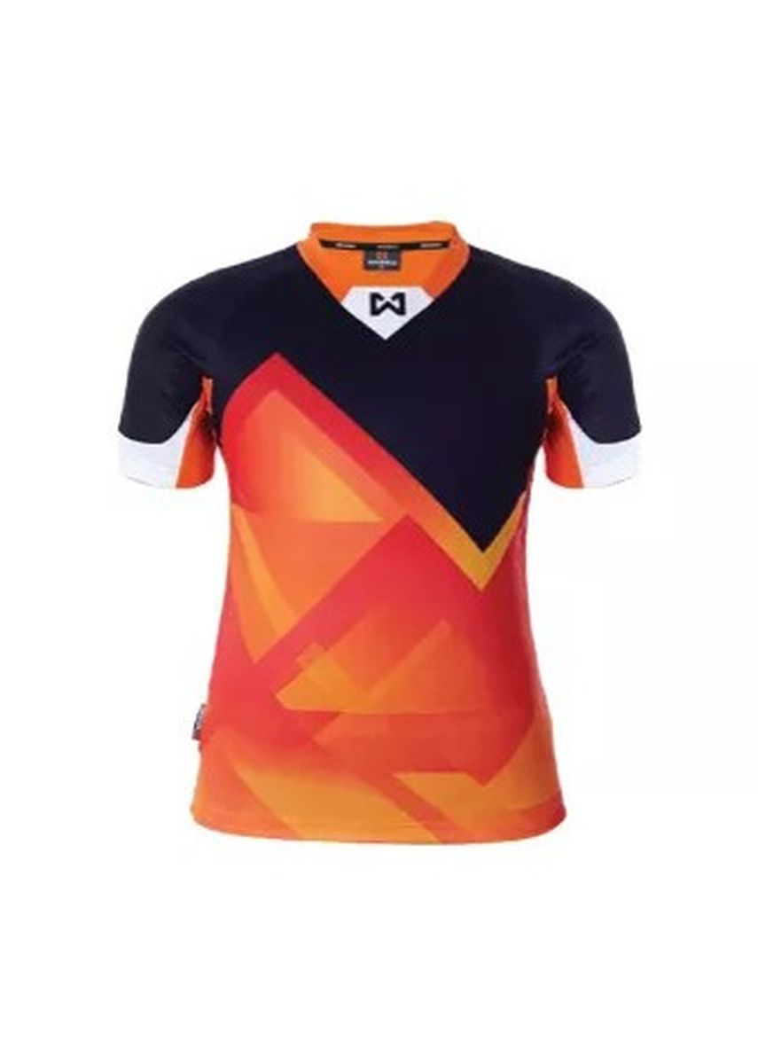 Orange color Sports Wear . Warrix Jersey WA-1522M-OA -