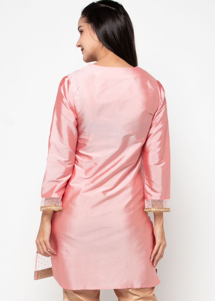 Pink color Tops . Chanira Festive Anya Tunic -