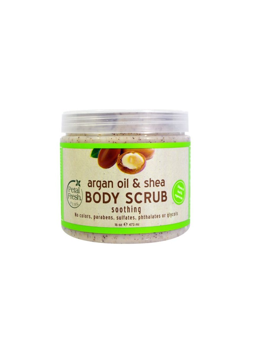 No Color color Body Scrub . Argan Oil & Shea Body Scrub 470 ml – Mint -