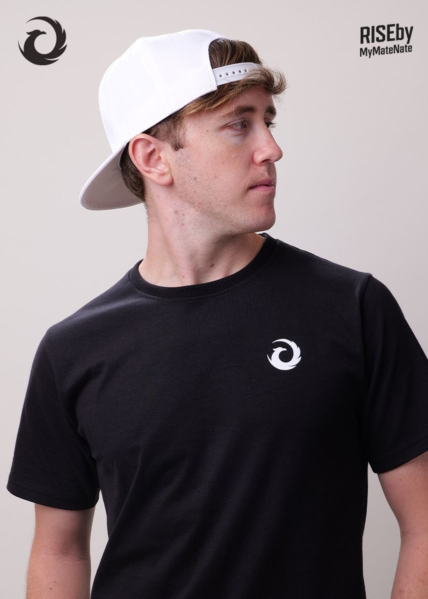 White color Hats and Caps . RISE CAP WHITE -