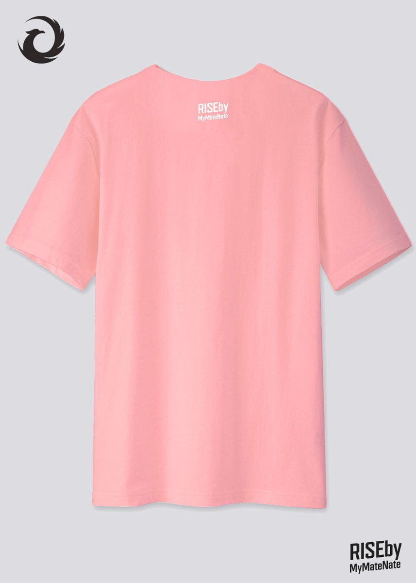 Pink color  . RISE T-SHIRT -