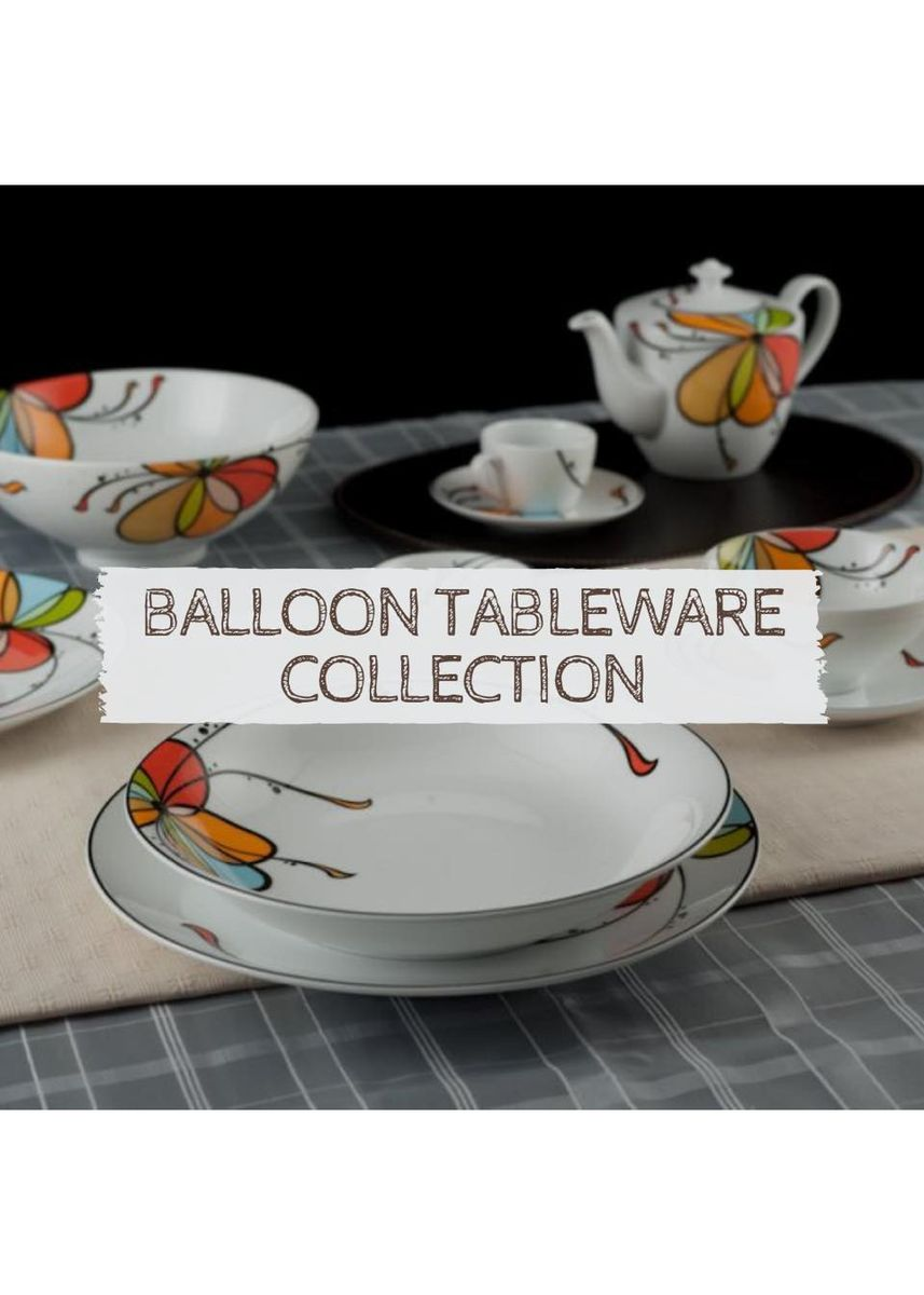 White color Kitchen . Balloon - Soup Bowl (18cm) -
