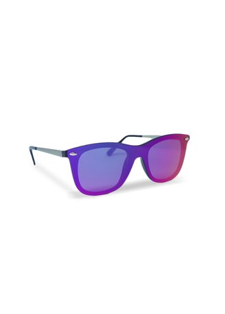 Blue color Sunglasses . EyeMarie KENDALL Gold Blue Sunglasses -