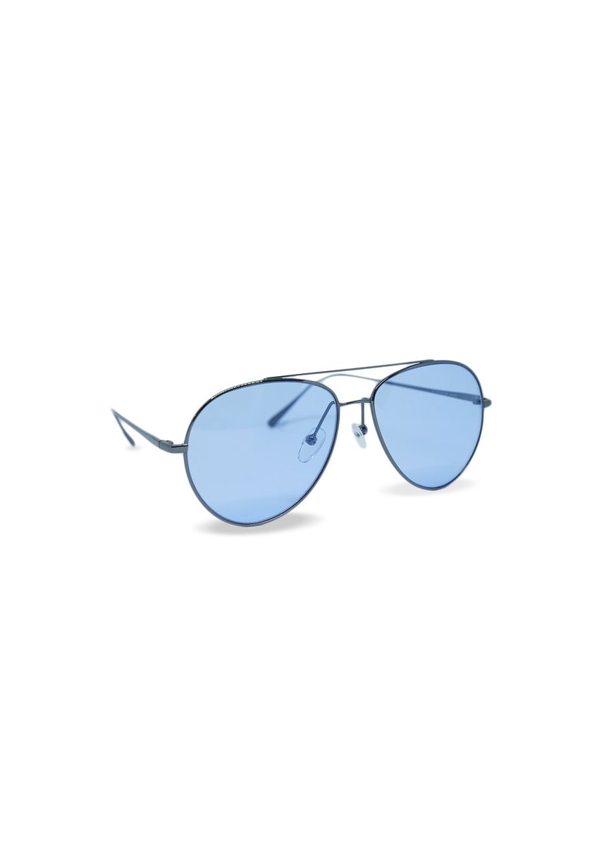 Blue color Sunglasses . EyeMarie GERLYNE Blue Sunglasses -