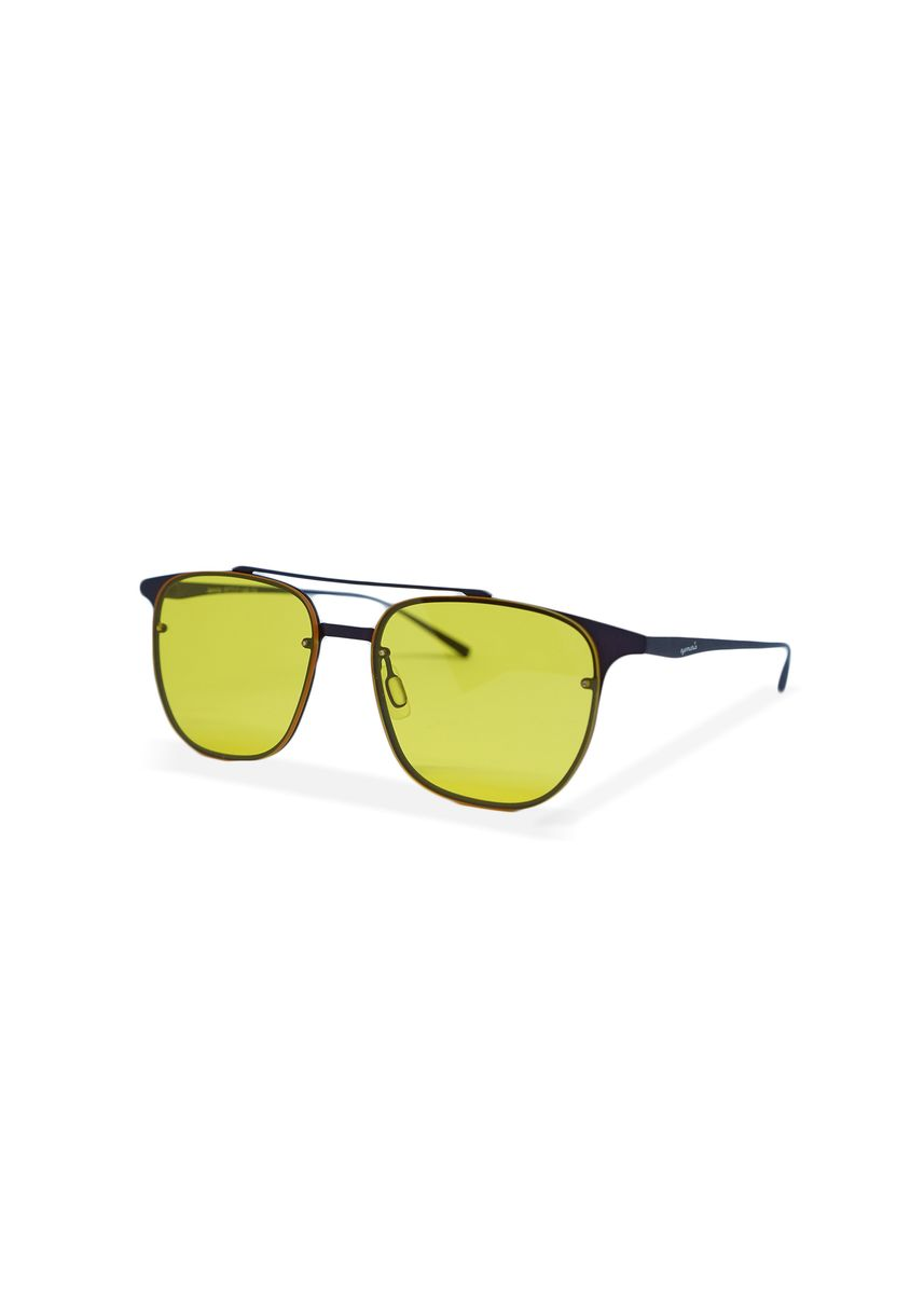 Yellow color Sunglasses . EyeMarie JAMILA Yellow Sunglasses -