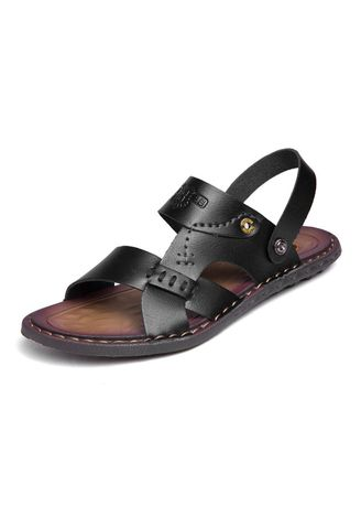 Sandals and Slippers . Men Style Fashion Comfort Two Wear Sandals -