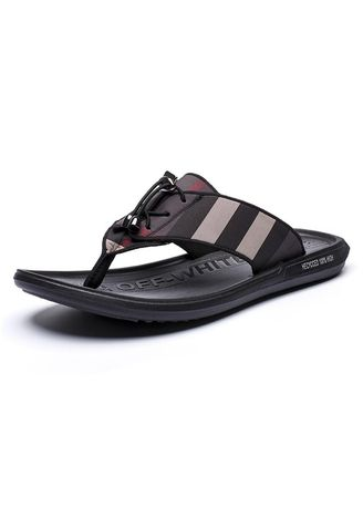 Sandals and Slippers . Men Leather Style Cool Breathable Beach Sandals -