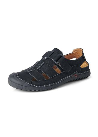 Sandals and Slippers . Men Style Fashion Comfort Sewing Sandals -