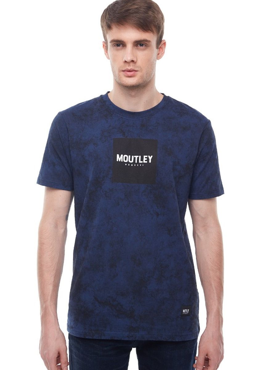 Blue color T-Shirts and Polos . Moutley Men Tshirt 020520 -