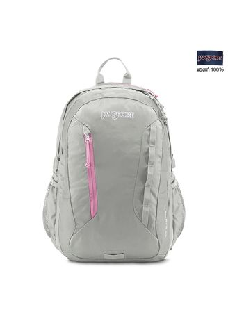 Light Grey color Sling Bags . JANSPORT กระเป๋าเป้ รุ่น WOMENS AGAVE - GREY RABBIT JS00T70L9ZE -