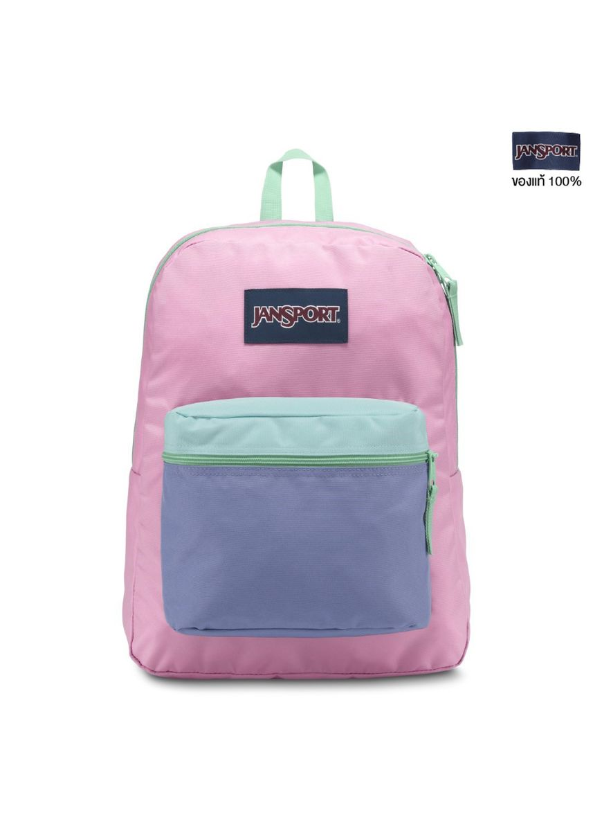 Pink color Sling Bags . JANSPORT กระเป๋าเป้ รุ่น  Exposed - Prism Pink Cascade S19 JS0A33SB5H1 -