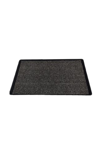 """Black color Tools . 17""""x30"""" Disinfecting Mat with Tray and Chlorine Granules -"""