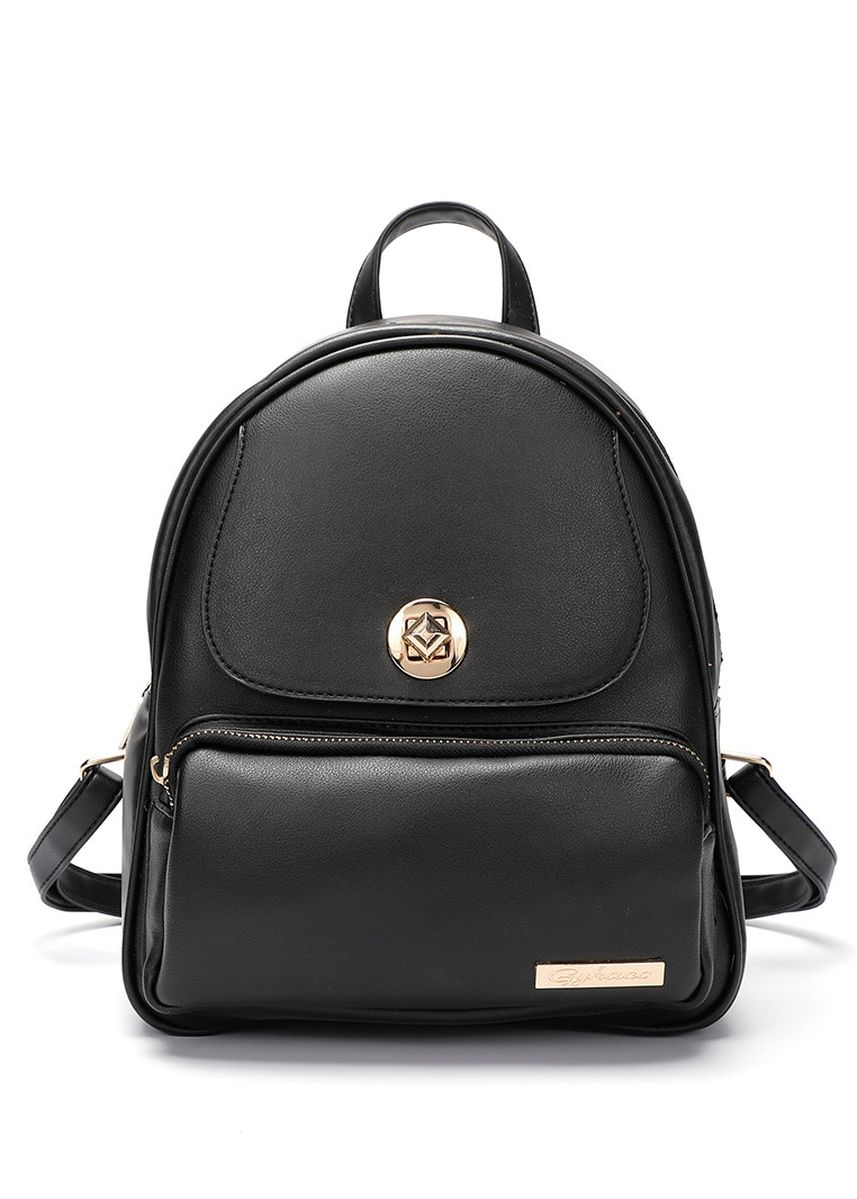 Hitam color Ransel . GYKACO Jenica - Tas Ransel Wanita - Fashion Backpack (Import) -