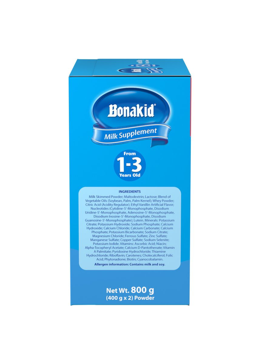 No Color color Milk . Wyeth Bonakid Stage 3 Powdered Milk Drink for Children 1 to 3 Years old, 800g Box -
