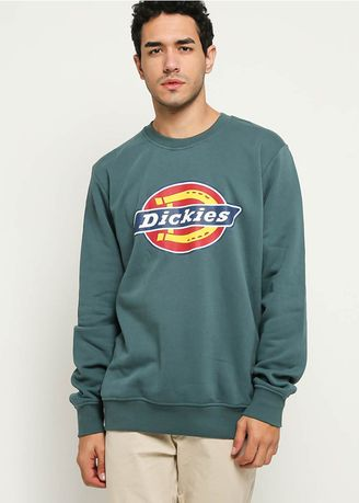 Blue color Sweaters . DICKIES-H.S CLASSIC CREW NECK SWEATER LN -