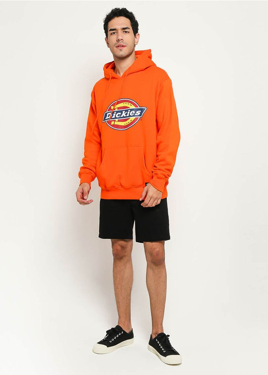 Oranye color Jaket & Coat . DICKIES-H.S CLASSIC POP OVER HOODY DPO -