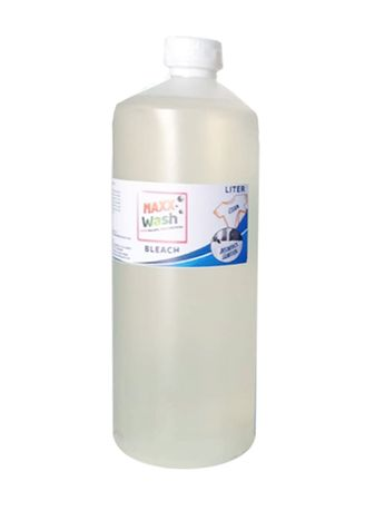 No Color color Washing & Cleaning . Maxx Wash Bleach, 1 Liter -