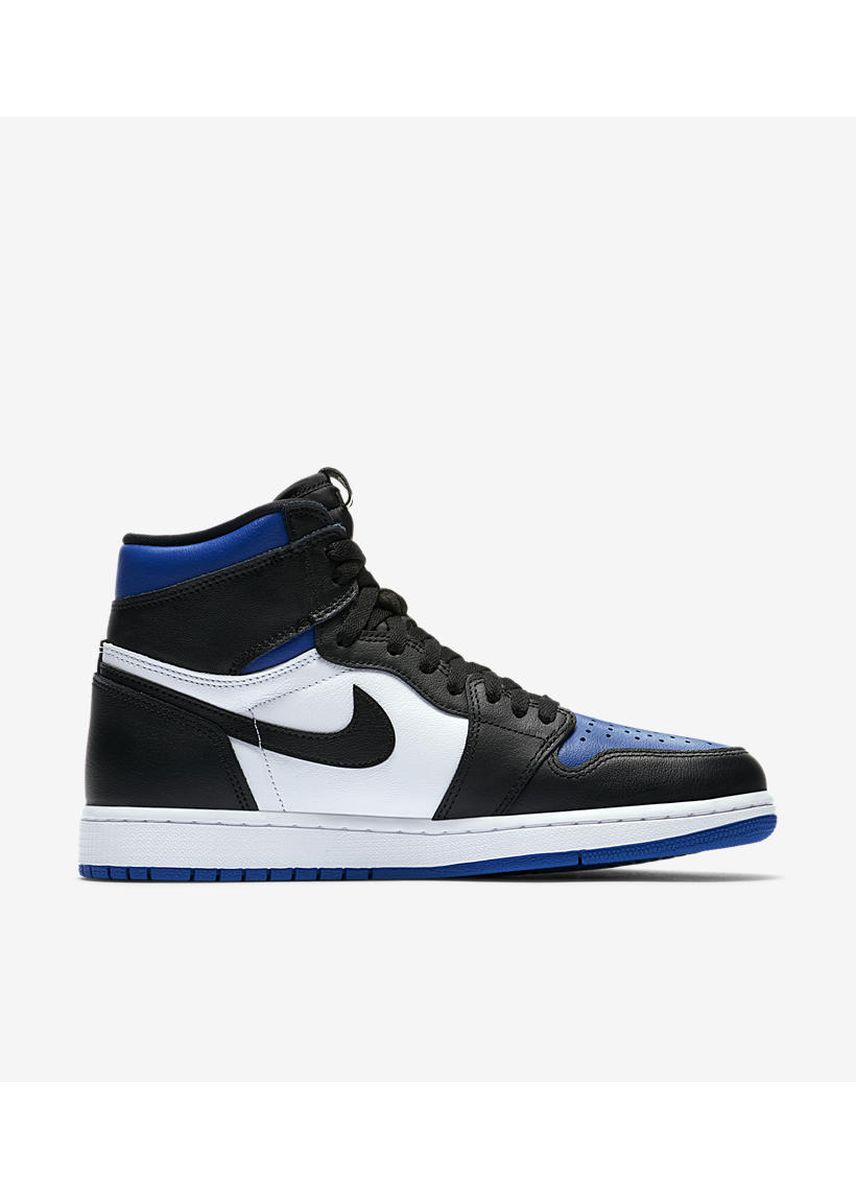 Blue color Casual Shoes . Nike Jordan 1 Blue Royal Toe 2020 -