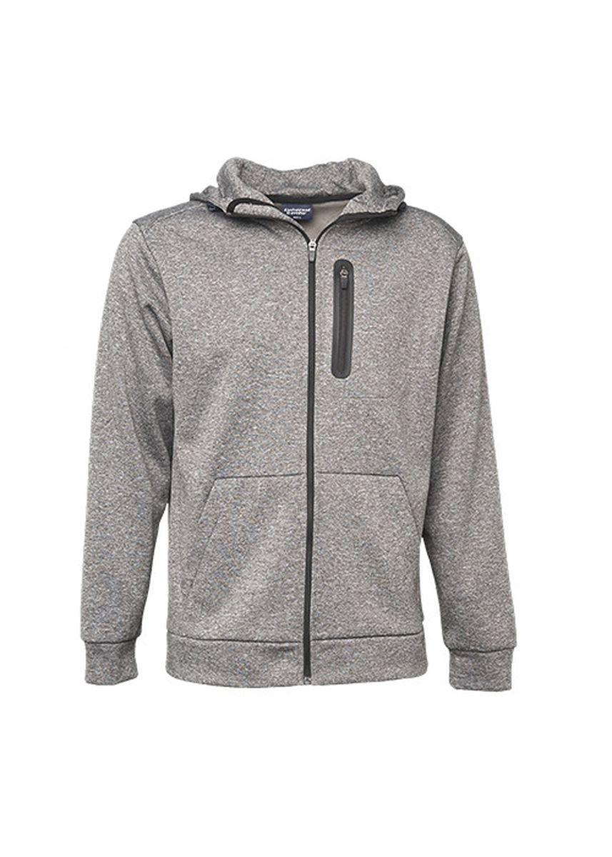 Grey color Jackets . Unisex Active Tech Jacket with Hood -