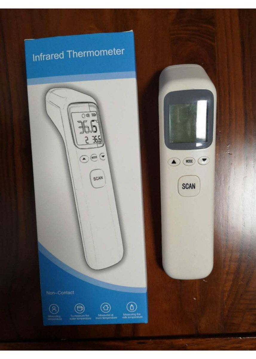 Putih color Peralatan . T668 Non Contact infrared Thermometer -