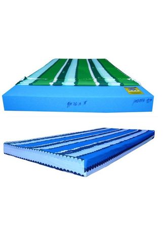 """Blue color Beds . Uratex foam with china cover 3.5"""" x 60"""" x 75""""  -"""