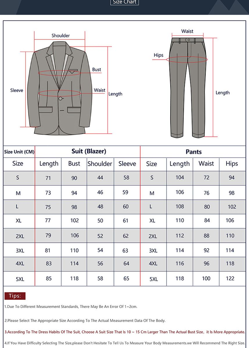 เทา color ชุดเสื้อผ้า . Men's Solid Color Double Button  Blazer Trousers Suit Set -