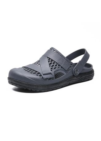 Grey color Sandals and Slippers . Half Sandals -
