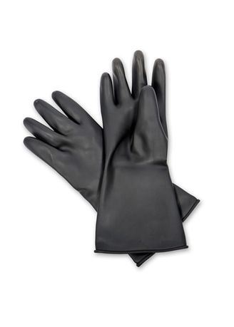 No Color color Washing & Cleaning . Rubber Hand Gloves -