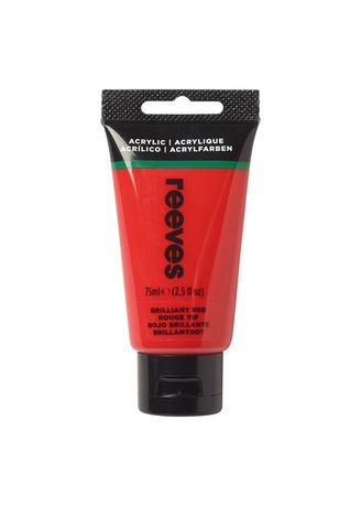 Red color Pens & Refills . Reeves Acrylic Paint, 75ml -