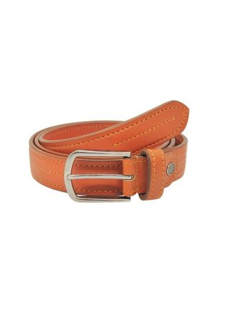 Tan color Belts . Casual Belt Leather MS 34mm -