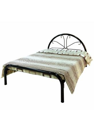 White color Beds . Charming Single Bed Frame (Frame Only) (30cm x 75cm) -